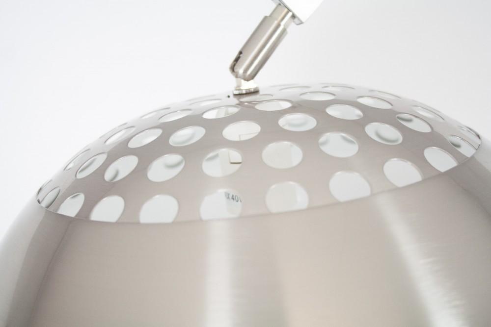 Lampada ad arco riproduzione castiglioni interior s project