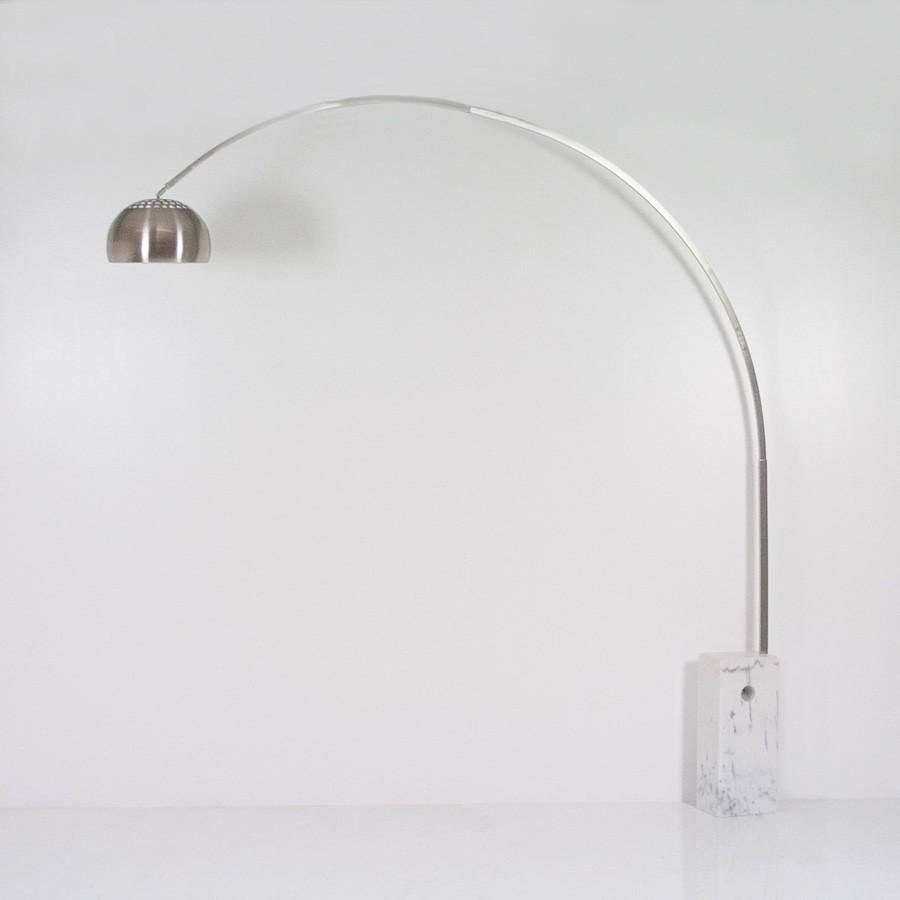 Lampada ad Arco Riproduzione Castiglioni | Interior\'s Project