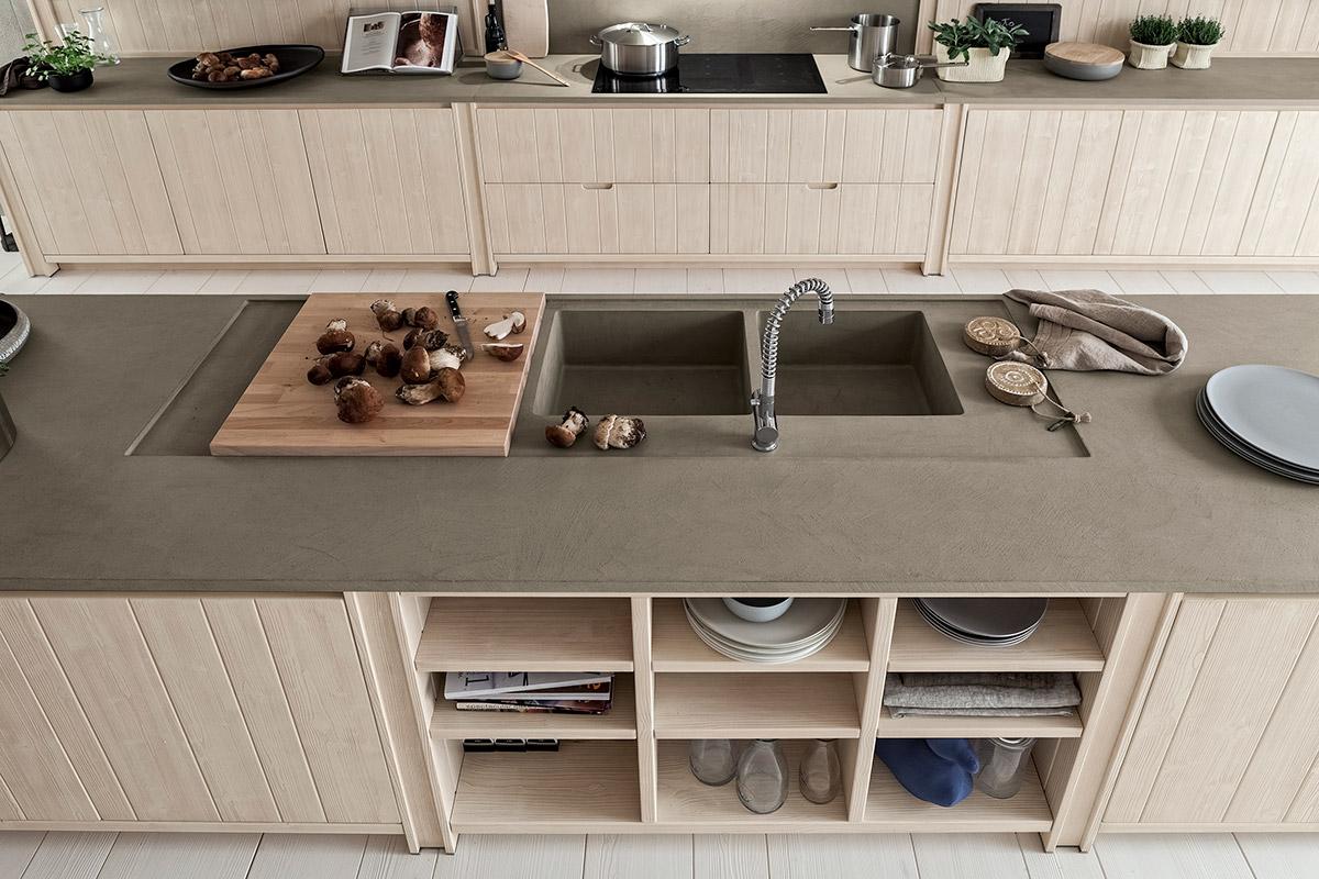 Cucine Scandola: Tutto Naturale Come Le Cose Più Vere. Interior's  #4C6040 1200 800 Cucine Moderne A U