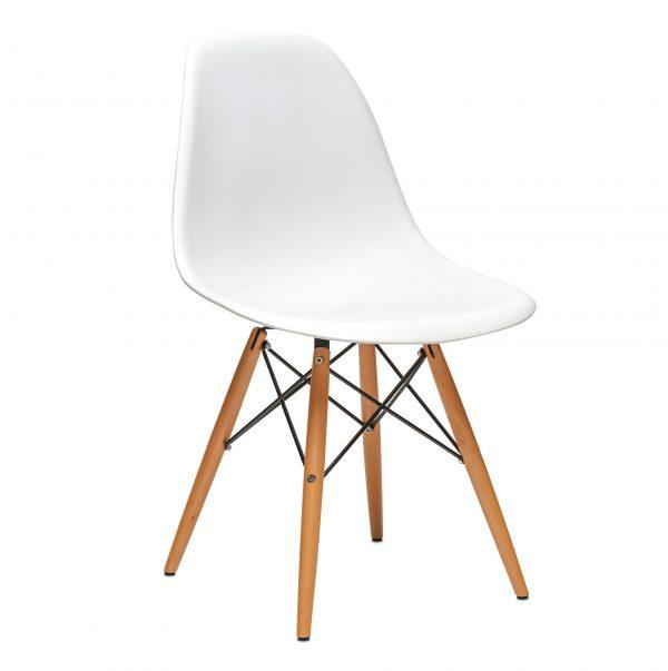 Sedia stile DSW di Charles e Ray Eames