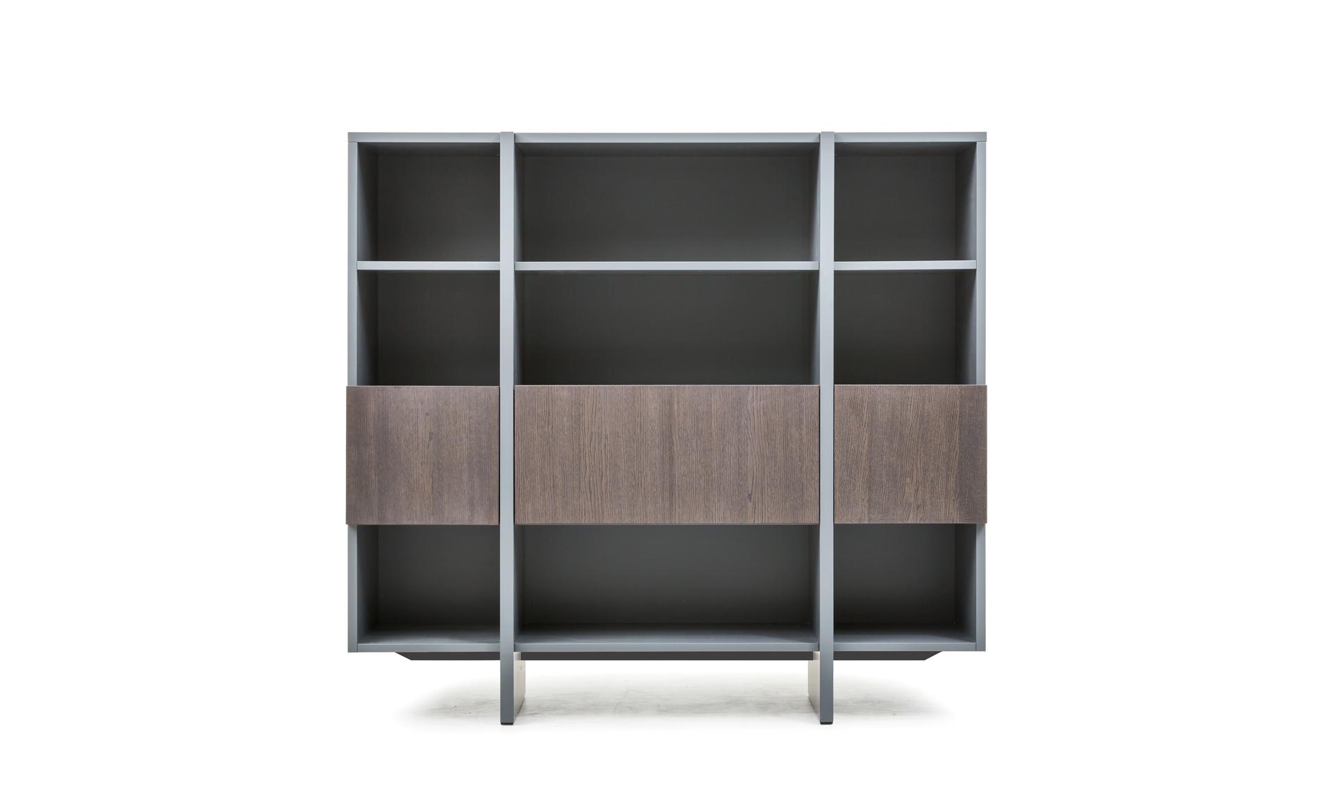 Credenza Con Libreria : Libreria recta con ante interior s project