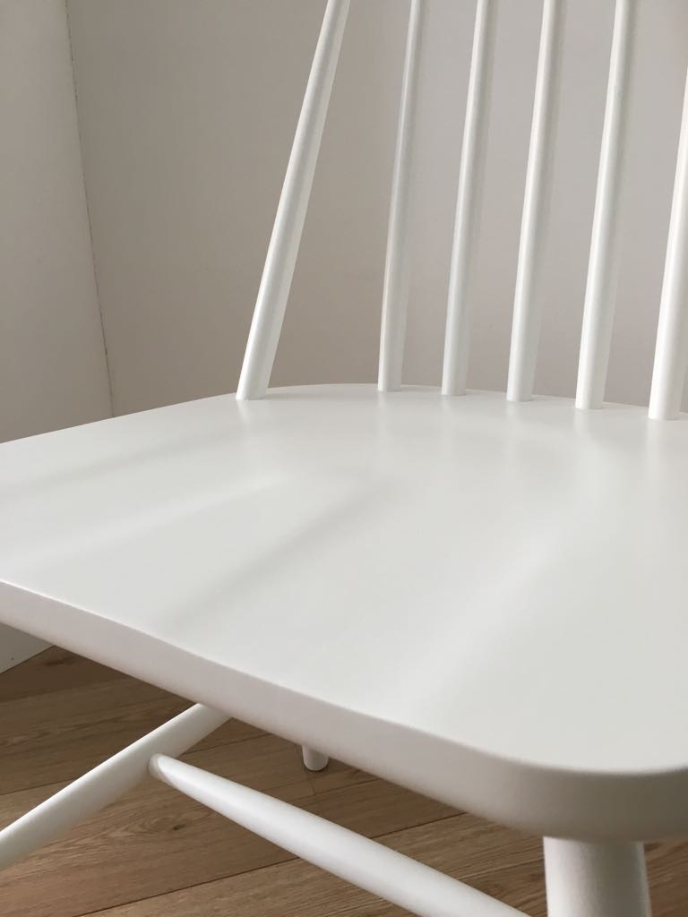 Set 4 sedie in legno bianche interior 39 s project for Sedie bianche legno