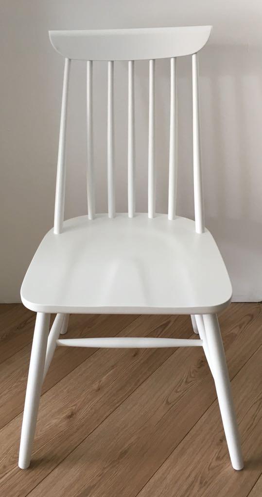 Sedie In Legno In Offerta.Set 4 Sedie In Legno Bianche